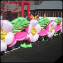 Пневмо гирлянда Персиковый цвет