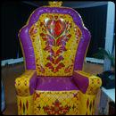 Надувной трон