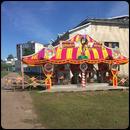 Паровозик Цирк Афро (рельсовый)